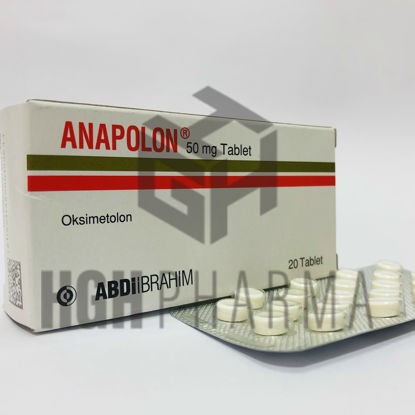 Picture of Anapolon 50mg 20 Tab