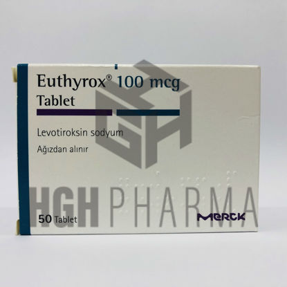 Picture of Euthyrox 100mcg 50 Tab