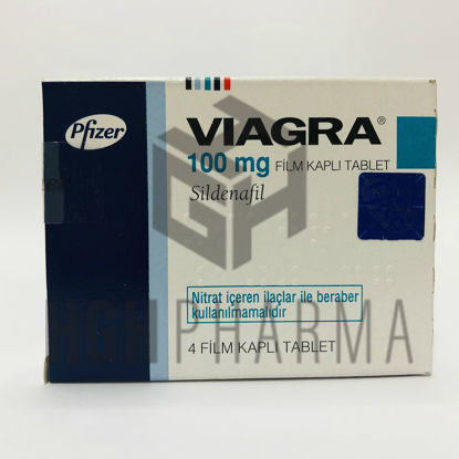 Picture of Viagra 100mg 4 Tab