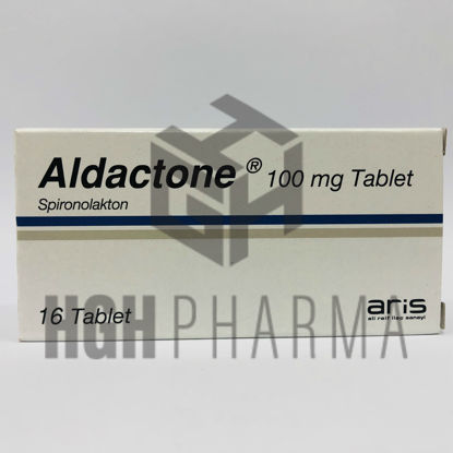 Picture of Aldactone 100mg 16 Tablet