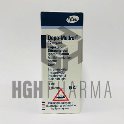 Picture of Depo-Medrol 40mg/ml 1 Flacon