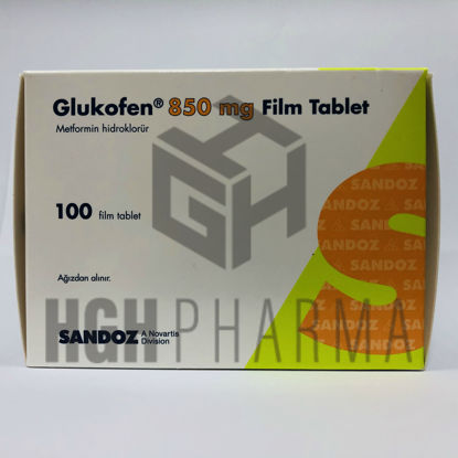 Picture of Glukofen 850mg 100 Tab