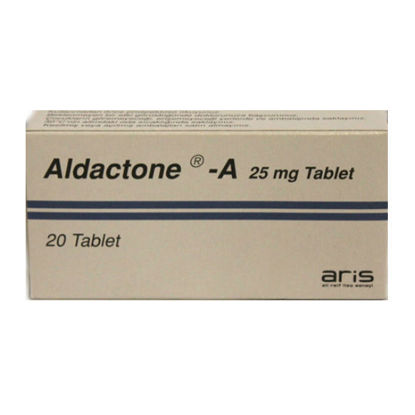 Picture of Aldactone-A 25mg 20 Tablet
