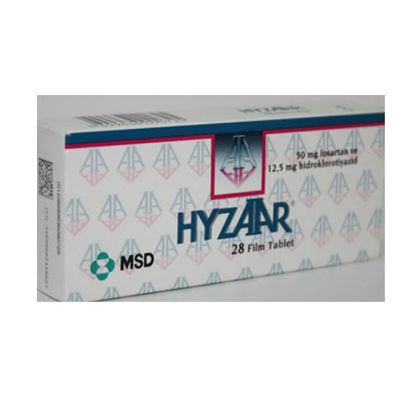 Picture of Hyzaar 50mg/12.5mg 28 Tab