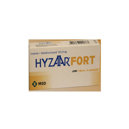 Picture of Hyzaar Fort 100mg/25mg 28 Tab