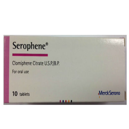 Picture of Serophene 50mg 10 Tab - Clomid