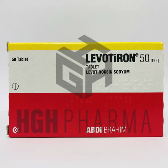 Picture of Levotiron 50mcg 50 Tab
