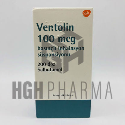 Picture of Ventolin Inh 100Mcg 200 Doses
