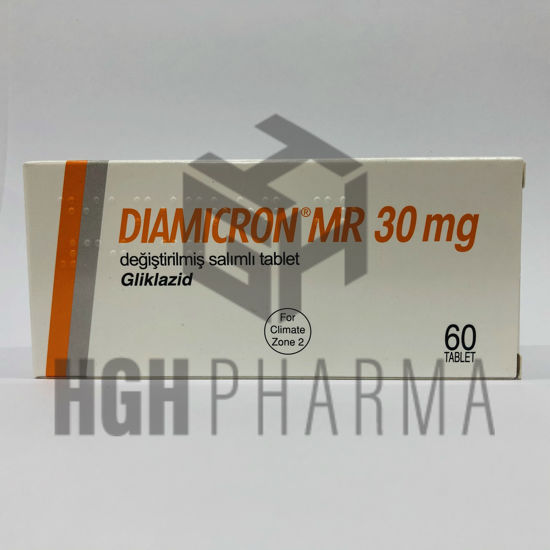 Picture of Diamicron MR 30mg 60 Tab