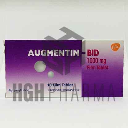 Picture of Augmentin 1000 Mg 10 Tab