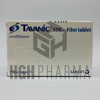 Picture of Tavanic 500 Mg 7 Tab