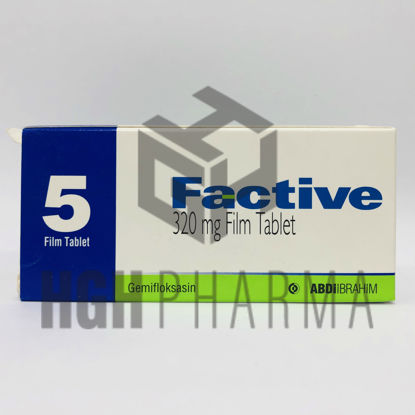 Picture of Factive 320 Mg 5 Tab
