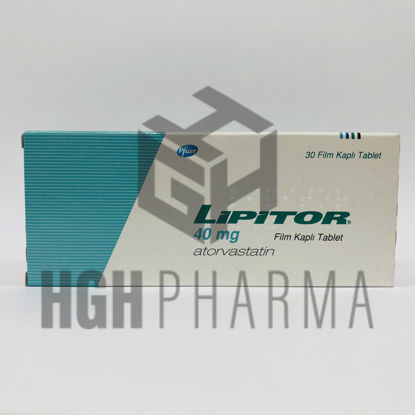 Picture of Lipitor 40mg 30 Tab