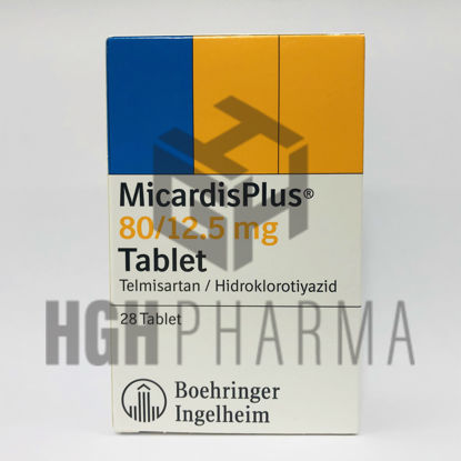 Picture of Micardis Plus 80/12,5mg 28 Tab
