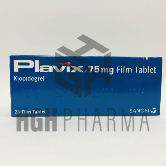 Picture of Plavix 75mg 28 Tab