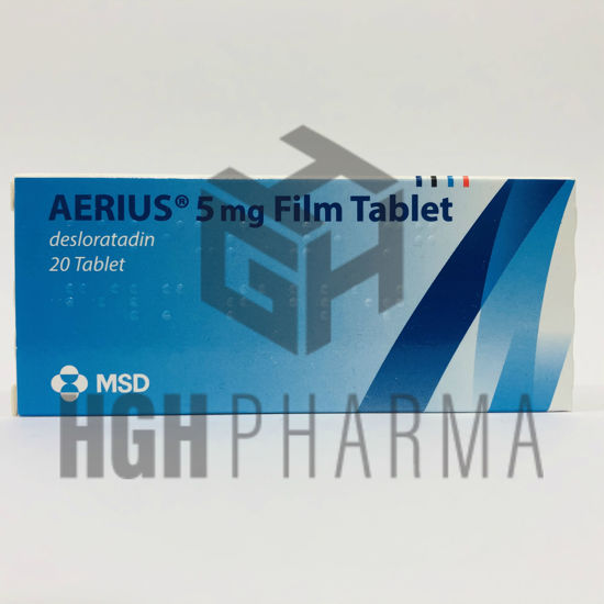 Picture of Aerius 5mg 20 Tab