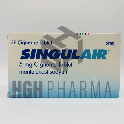 Picture of Singulair 5mg 28 Tab