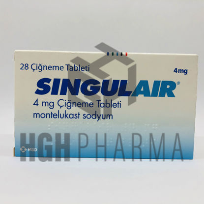Picture of Singulair 4mg 28 Tab