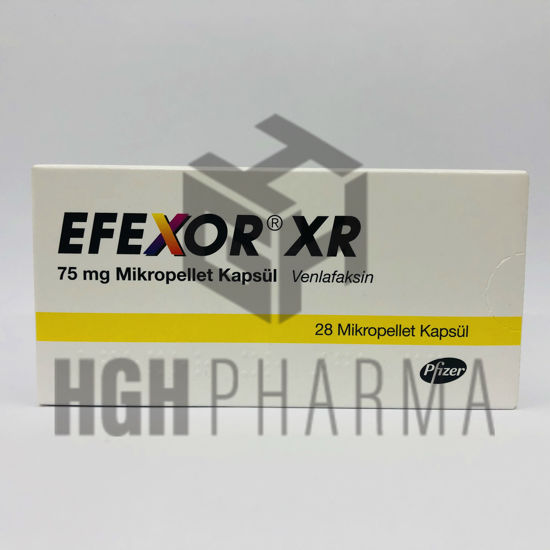 Picture of Efexor XR 75mg 28 Capsules