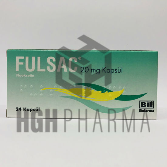 Picture of Fulsac 20mg 24 Capsules