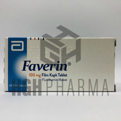 Picture of Faverin 100mg 30 Tab