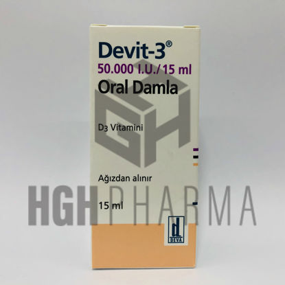 Picture of Devit-3 Oral Drop 50.000 IU/15ml Bottle