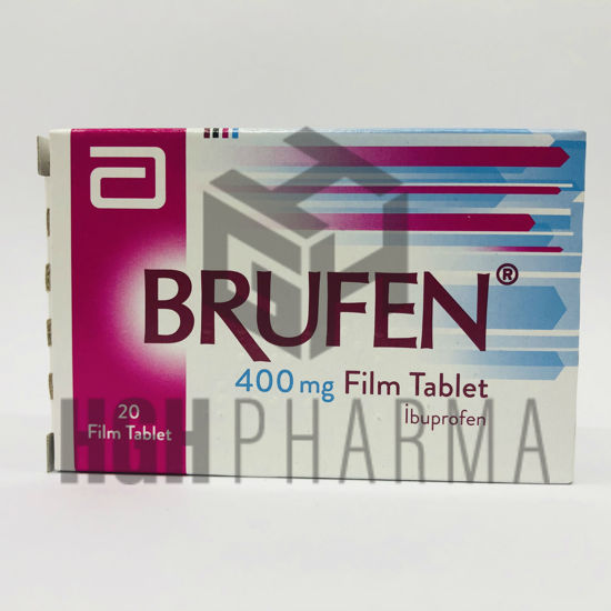 Picture of Brufen 400mg 20 Tab