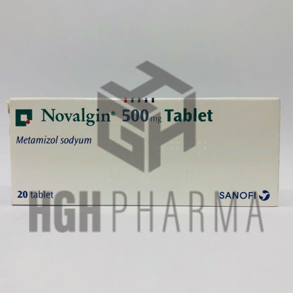 Picture of Novalgin 500mg 20 Tab
