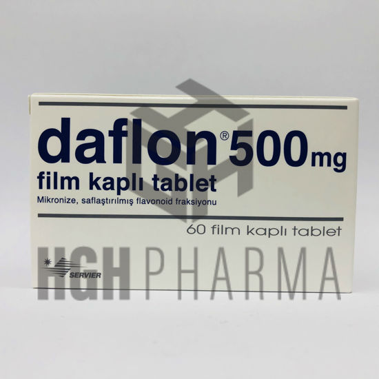 Picture of Daflon 500mg 60 Tablet