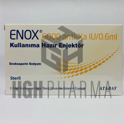 Picture of Enox 6000 Anti Xa 2x0.6ml Inj