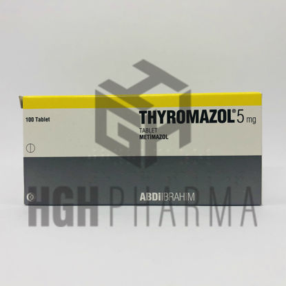 Picture of Thyromazol 5mg 100 Tablet