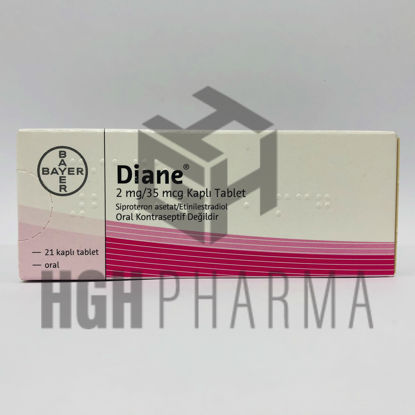 Picture of Diane 35 2mg/35mcg 21 Tablet