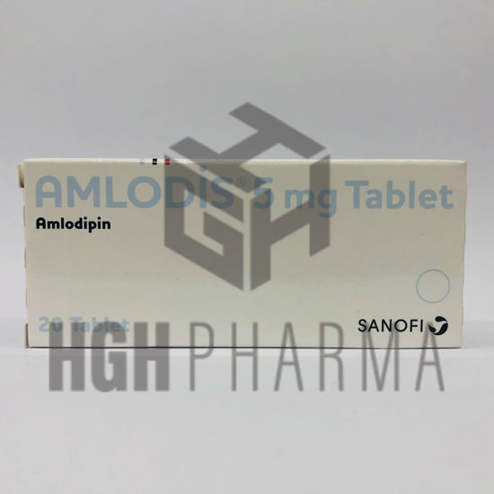 Picture of Amlodis 5mg 20 Tab