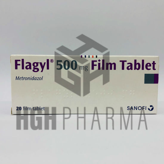 Picture of Flagyl 500mg 20 Tab