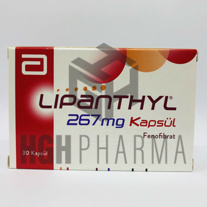 Picture of Lipanthyl 267mg 30 Capsules