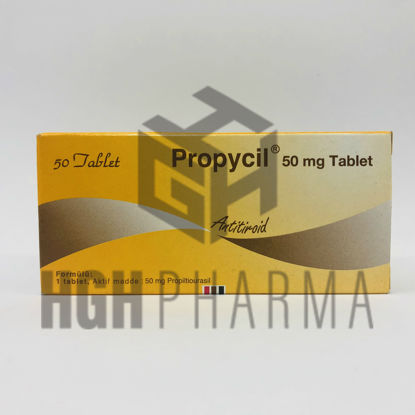 Picture of Propycil 50mg 50 Tab