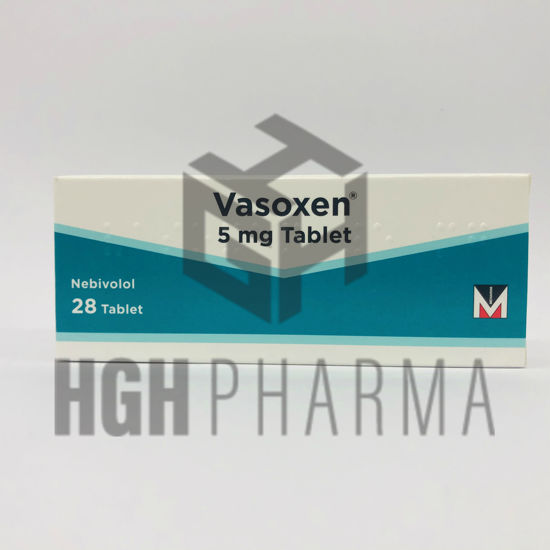 Picture of Vasoxen 5mg 28 Tab