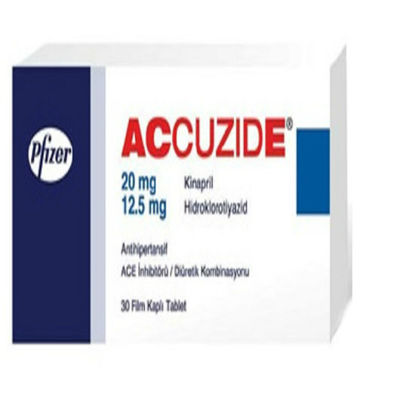 Picture of Accuzide 20mg/12.5mg 30 Tab