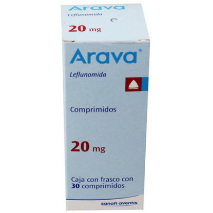 Picture of Arava 20mg 30 Tablet