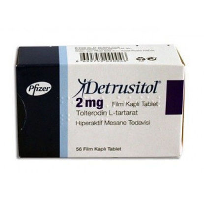 Picture of Detrusitol 2mg 56 Tablet