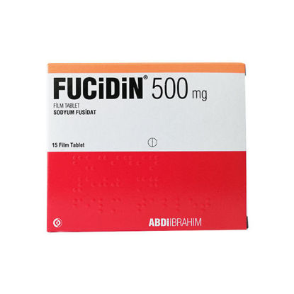 Picture of Fucidin 500 Mg 15 Tab