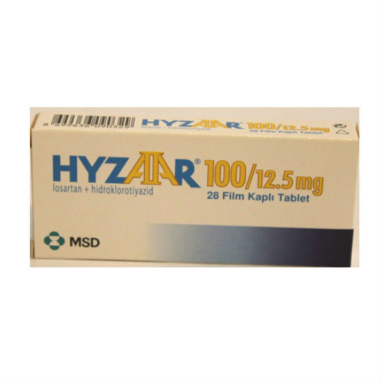 Picture of Hyzaar 100mg/12.5mg 28 Tab