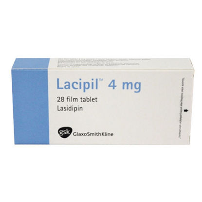 Picture of Lacipil 4mg 28 Tab