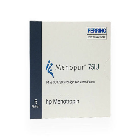 Picture of Menopur 75 IU 5 Flacon