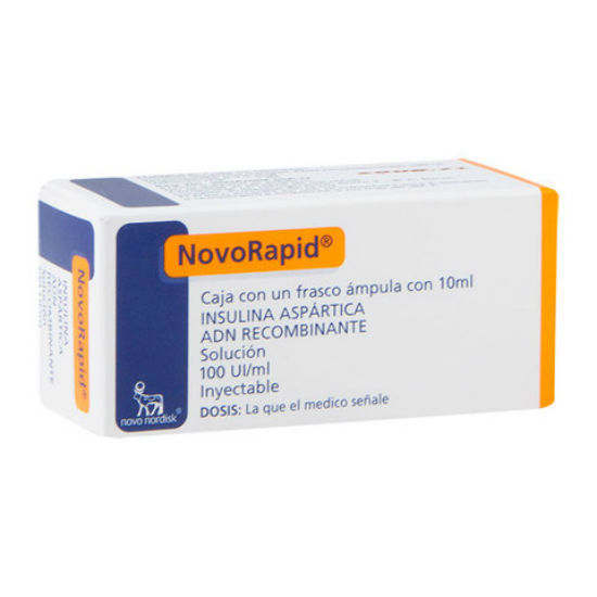 Picture of NovoRapid 100IU 10ml 1 Flacon