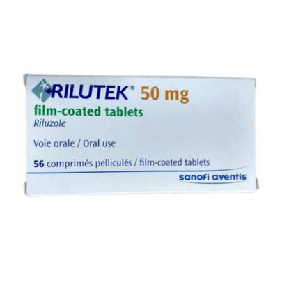 Picture of Rilutek 50mg 56 Tablet