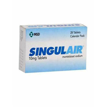 Picture of Singulair 10mg 28 Tab