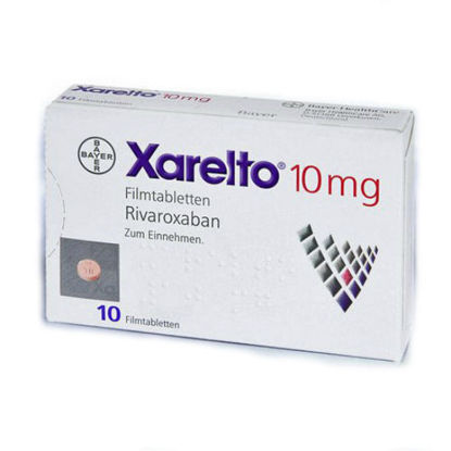 Picture of Xarelto 10mg 10 Tablet