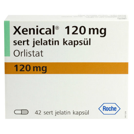 Picture of Xenical 120mg 42 Capsules