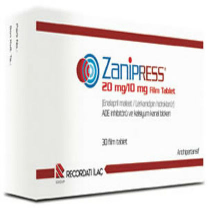 Picture of Zanipress 20mg/10mg 30 Tab
